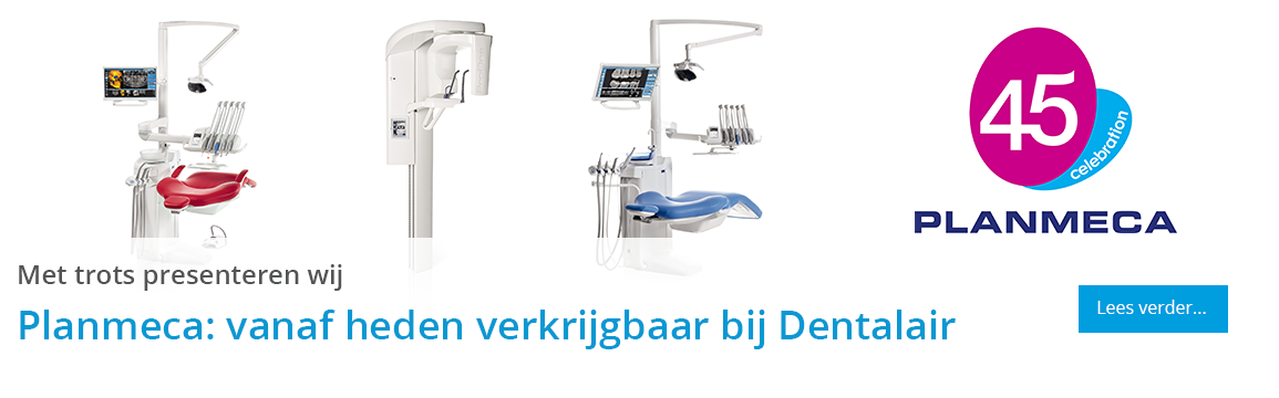 Dentalair is per direct een Planmeca Dealer