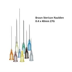 BBR STERICAN NAALD 0,4X40MM. 27G X100ST