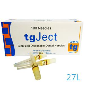 TGJECT NAALDEN 27L/0,4X34MM. X100ST.