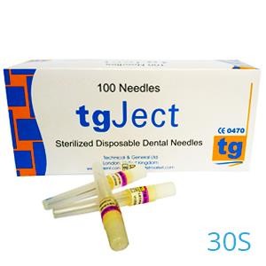 TGJECT NAALDEN 30S/0,3X24MM. X100ST.