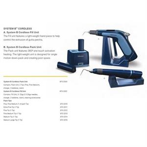 SYSTEM B CORDLESS PACK UNIT