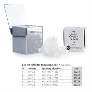 PD COTTON PELLETS NR.4 (6 REFILLS)