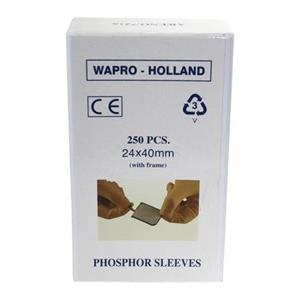 PHOSPHOR SLEEVES + FRAME #1 24X40MM X250